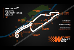 Woking International Circuit, Streckenlayout
