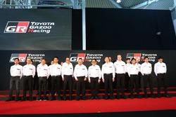 TOYOTA GAZOO Racingプレスカンファレンス