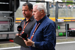 Ted Kravitz, Sky TV et Pat Symonds, Sky TV
