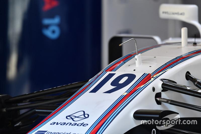 Williams FW40 detalle nariz