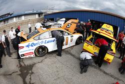 Ryan Blaney, Wood Brothers Racing Ford Joey Logano, Team Penske Ford