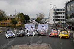 Maxime Martin, BMW Team RBM, BMW M4 DTM, Bruno Spengler, BMW Team RBM, BMW M4 DTM, Tom Blomqvist, BMW Team RBM, BMW M4 DTM, Marco Wittmann, BMW Team RMG, BMW M4 DTM, Augusto Farfus, BMW Team RMG, BMW M4 DTM, Timo Glock, BMW Team RMG, BMW M4 DTM