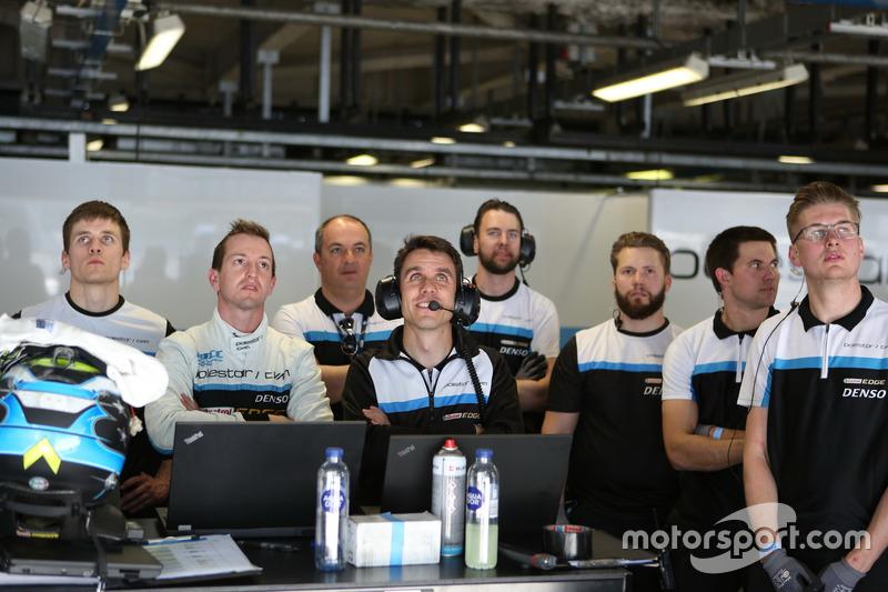 Nestor Girolami, Polestar Cyan Racing, Volvo S60 Polestar TC1 with the team