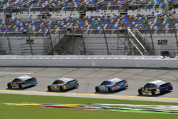 Ricky Stenhouse Jr., Roush Fenway Racing Ford,David Ragan, Front Row Motorsports Ford, Darrell Wallace Jr, Trevor Bayne, Roush Fenway Racing Ford