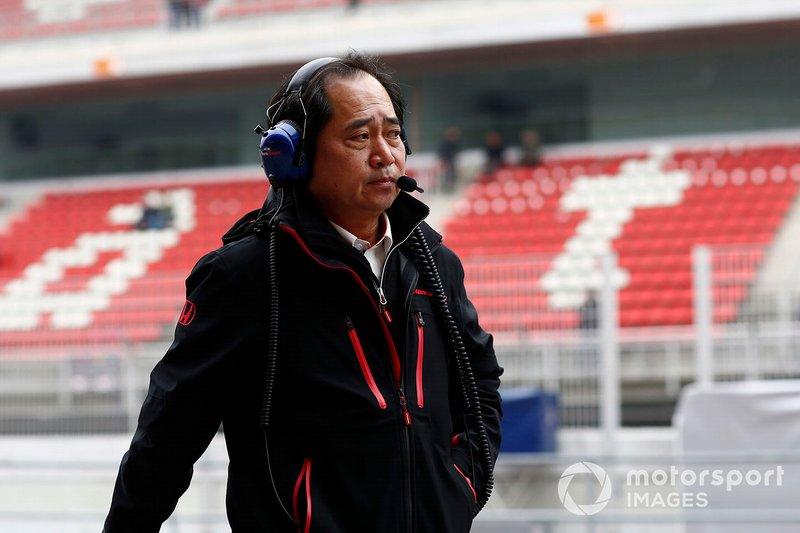 Toyoharu Tanabe, directeur technique de Honda F1