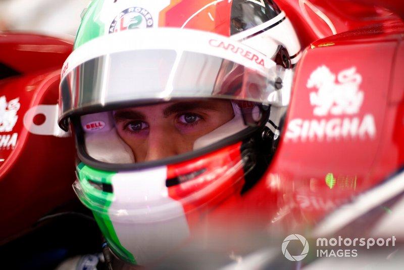 Antonio Giovinazzi, Alfa Romeo Racing C38