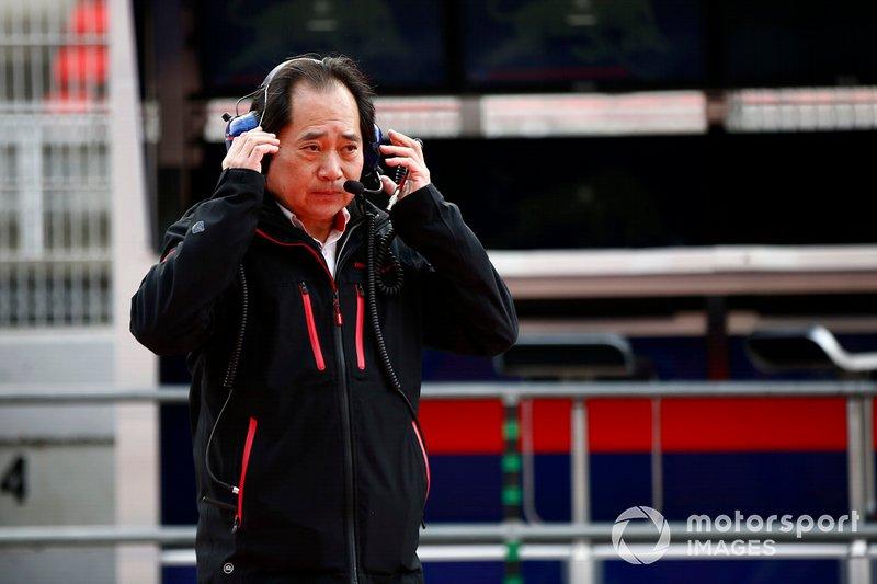 Toyoharu Tanabe, directeur technique Honda F1
