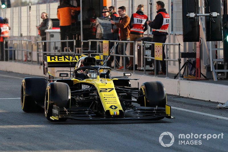 Ніко Хюлькеберг, Renault Sport F1 Team R.S. 19