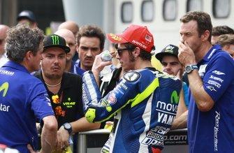 Valentino Rossi, Yamaha Factory Racing al parco chiuso