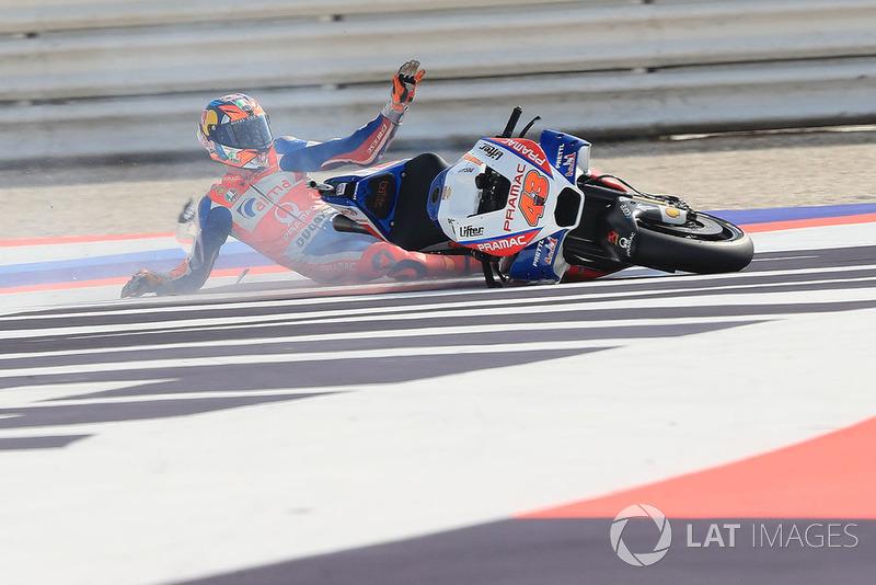 Аварія Джека Міллера, Pramac Racing