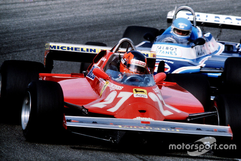 Gilles Villeneuve, Ferrari, Patrick Tambay, Ligier