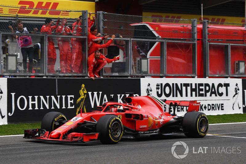 Belgique - Vainqueur : Sebastian Vettel