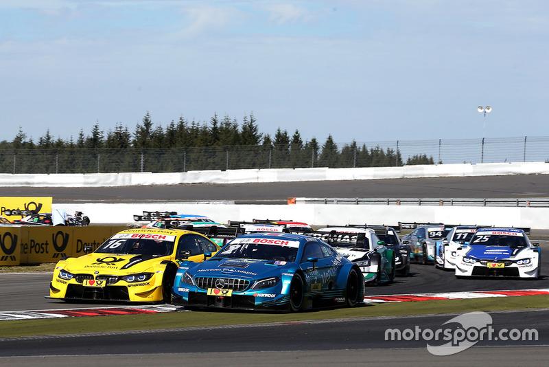 Timo Glock, BMW Team RMG, BMW M4 DTM, Gary Paffett, Mercedes-AMG Team HWA, Mercedes-AMG C63 DTM