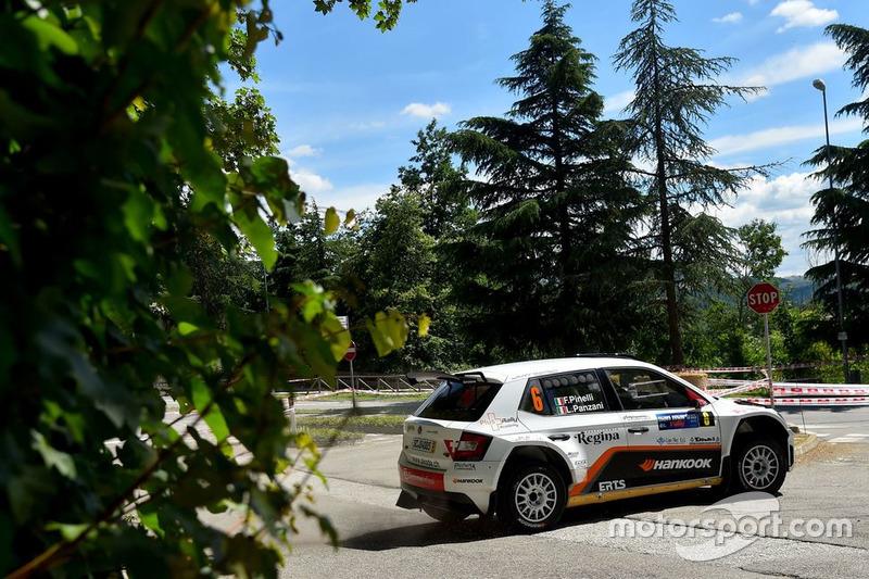 Luca Panzani, Francesco Pinelli, Skoda Fabia R5, ART Motorsport