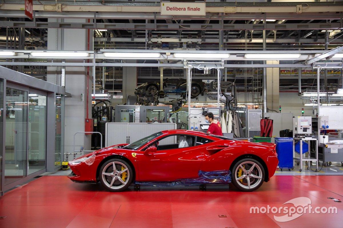 La produzione Ferrari torna a pieno regime