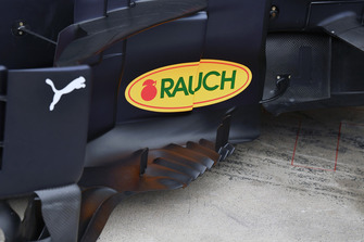 Red Bull Racing RB14 barge board detail