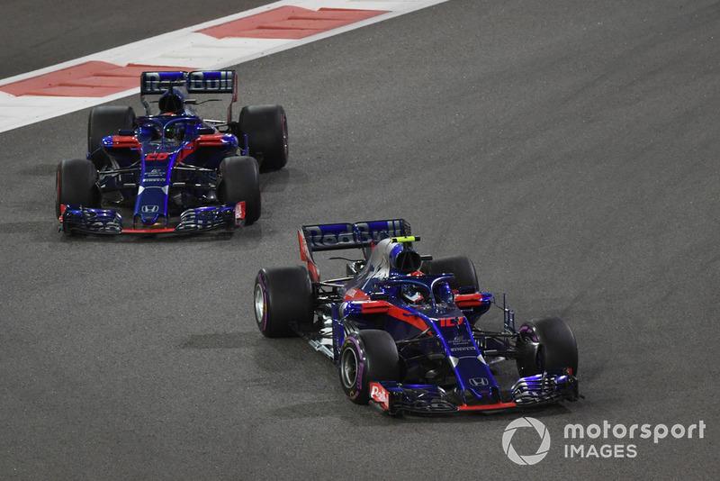 П'єр Гаслі, Брендон Хартлі, Scuderia Toro Rosso STR13
