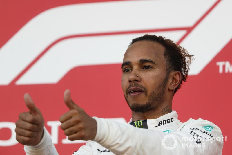 Lewis Hamilton - Mercedes: 10 puan
