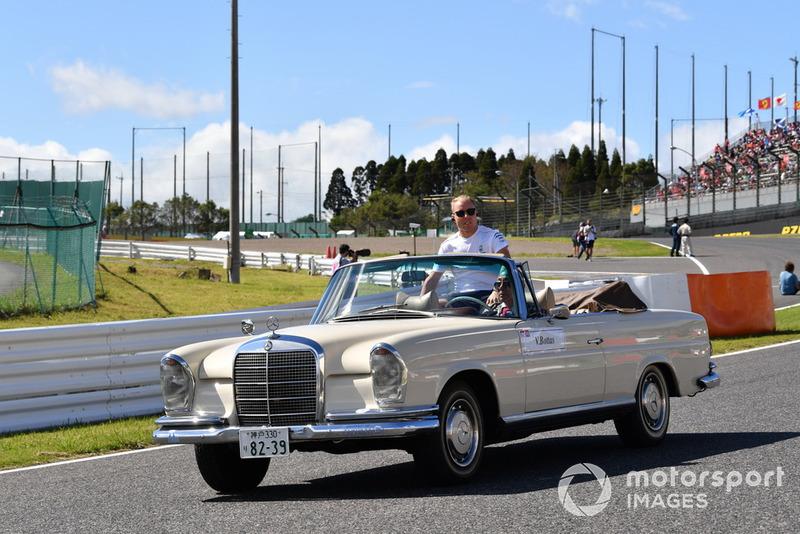 Valtteri Bottas, Mercedes AMG F1, parade pembalap