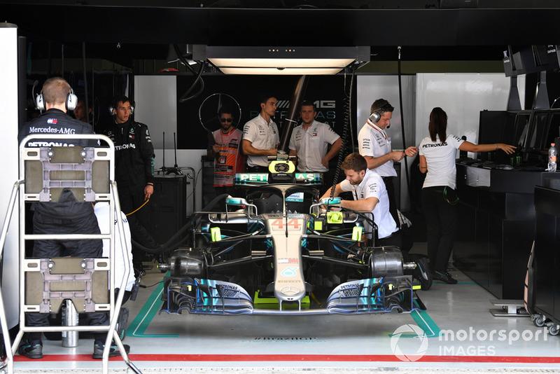 Машина Льюіса Хемілтона, Mercedes-AMG F1 W09