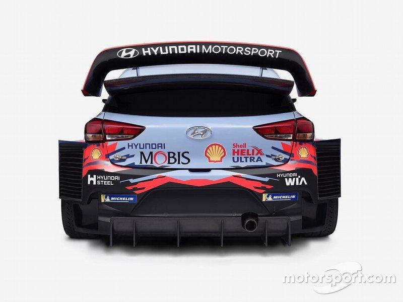 Hyundai i20 WRC 2019 teaser