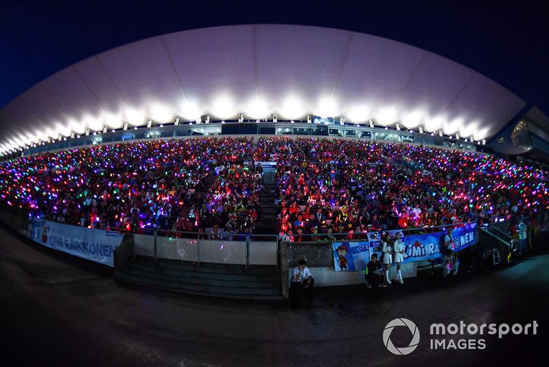 A legnagyobb show a Japán Nagydíjon