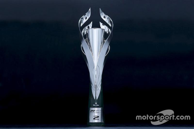 Трофей Гран Прі Мексики 2018 року за друге місце