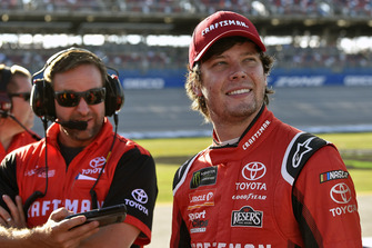 Erik Jones, Joe Gibbs Racing, Toyota Camry Craftsman and Chris Gayle