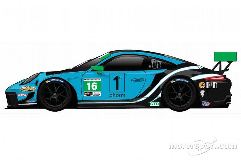Livrea Wright Motorsport