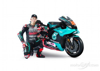 Petronas Yamaha SRT launch