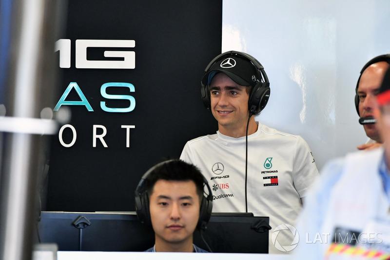 Esteban Gutierrez, Mercedes F1 AMG