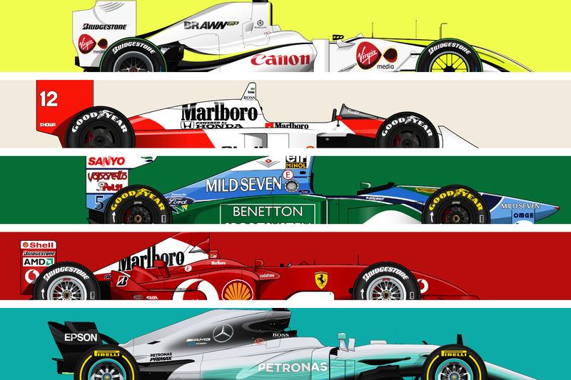 Le F1 più vincenti