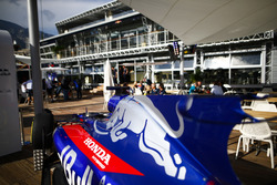 A Toro Rosso on the Red Bull Energy Station