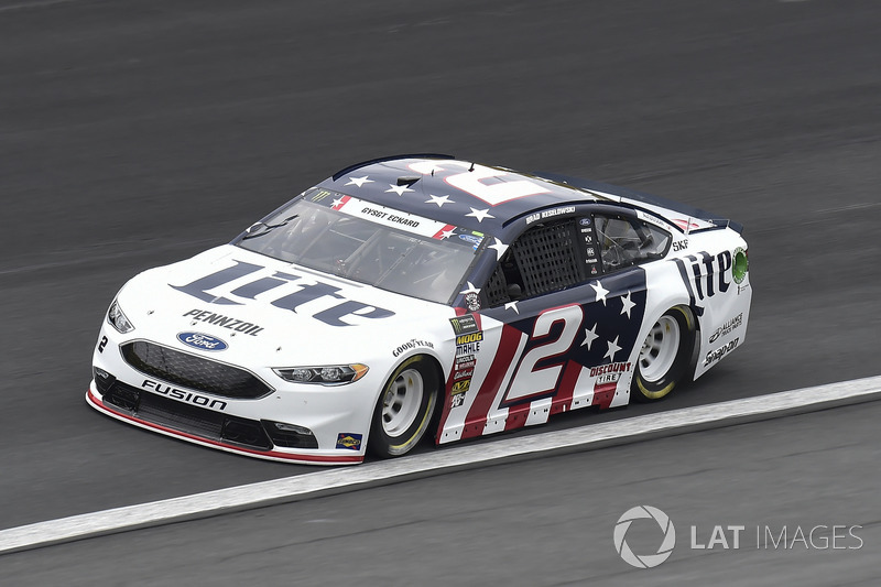 5. Brad Keselowski, Team Penske, Ford Fusion Stars, Stripes, and Lites