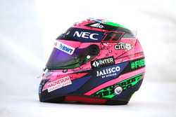 Helmet of Sergio Perez, Sahara Force India F1