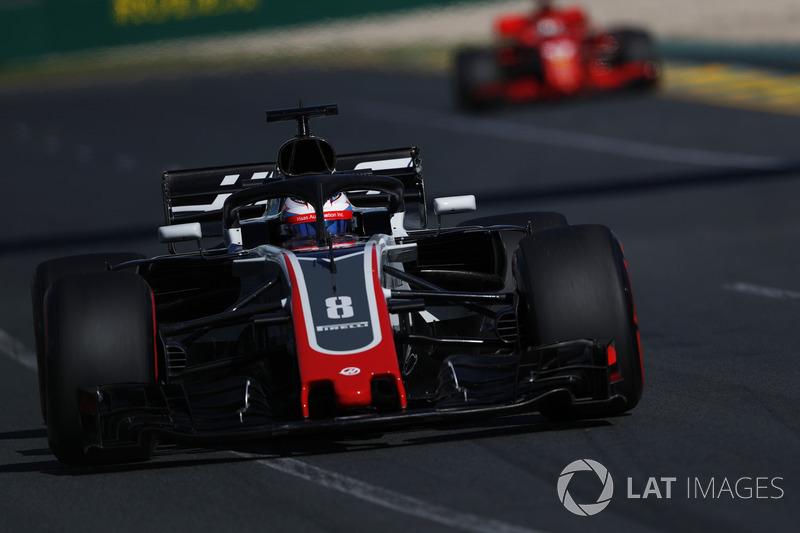 6. Romain Grosjean, Haas VF-18