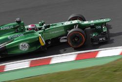 Heikki Kovalainen, Caterham CT03