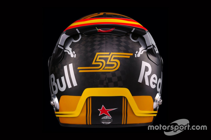 Helm Carlos Sainz Jr., Renault Sport F1 Team