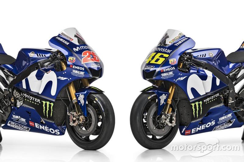 Maverick Viñales ve Valentino Rossi'nin motosikletleri