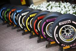 La nueva gama de neumáticos Pirelli para 2018