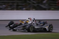 Josef Newgarden, Team Penske Chevrolet, Gabby Chaves, Harding Racing Chevrolet