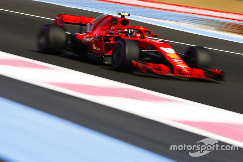 6: Kimi Raikkonen, Ferrari SF71H, 1'31.057