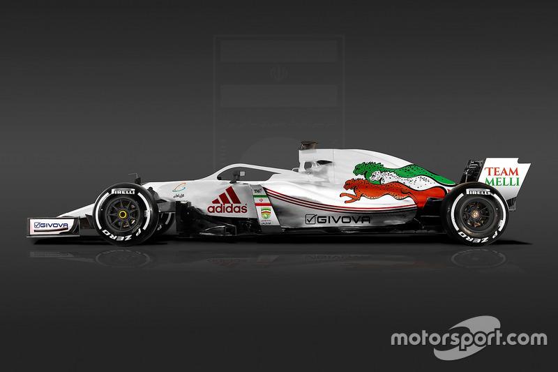 Formula 1 Dünya Kupası tasarımları - İran