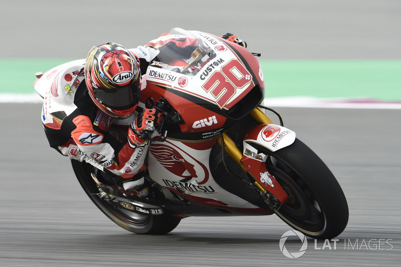 "<img src=""http://cdn-1.motorsport.com/static/custom/car-thumbs/MOTOGP_2017/RIDERS_NUMBERS/Nakagami.png"" width=""25"" /> Takaaki Nakagami (Team LCR Honda)"