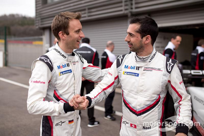 Timo Bernhard, Porsche Team, Neel Jani, Porsche Team