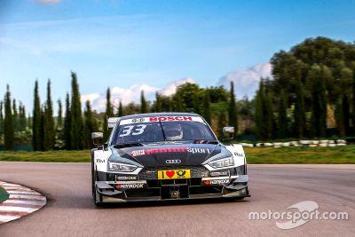 Тесты Audi RS5 DTM
