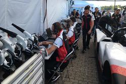 Miembros del equipo Porsche