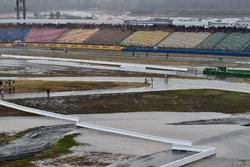 الأمطار بعد السباق