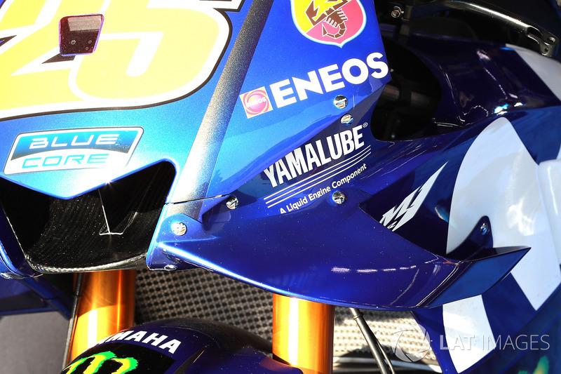Maverick Viñales, Yamaha Factory Racing, fairing