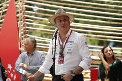 Alejandro Agag, Formula E CEO, CEO, Formula E at the Opening Ceremony for the Ciudad de Chile's E-Village stand